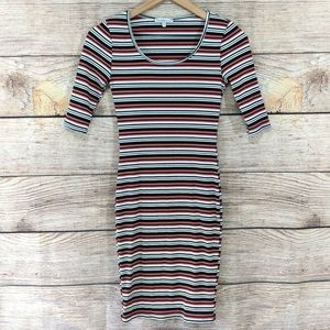 Charlotte Russe ribbed bodycon dress